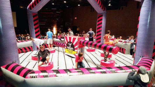 8 Player Ninja Warrior Dome