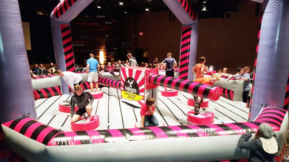 8 Player Ninja Warrior Dome