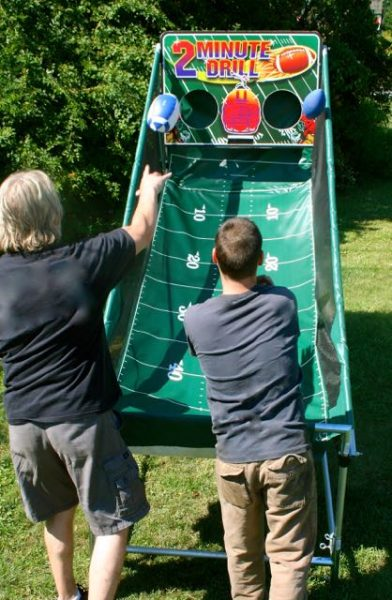 Football Toss Game Rental Phoenix