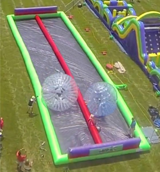Zorb Ball race track rentals in Arizona