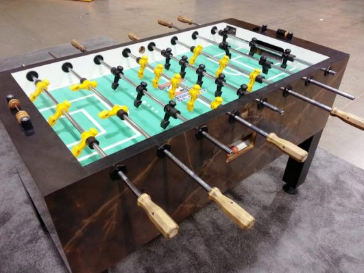 LED 16 Player Foosball Table rental
