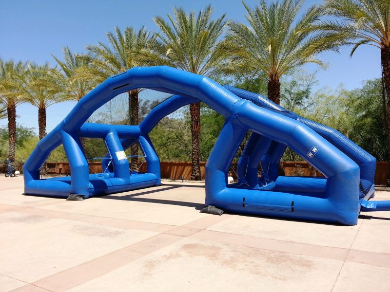 water balloon battle inflatable rental